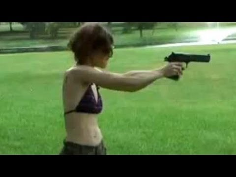 Funny accident 2013 Shooting Girls guns fails ПРИКОЛЫ 2013 [18+] [HD+] Viral video FUNNY
