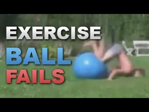 All Exercise Ball Fails in 3 Minutes