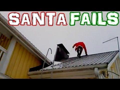 Santa Claus FAIL Compilation