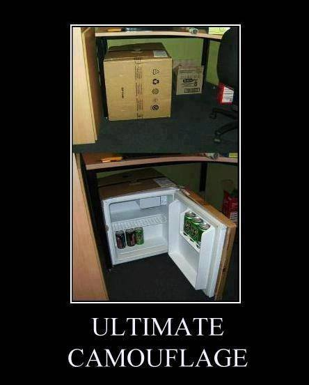 Fail Pictures – Camouflaged fridge