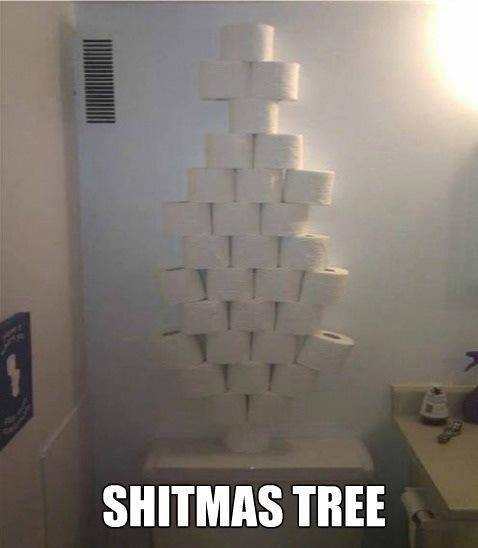 Really Funny Pictures – Shitmas Tree