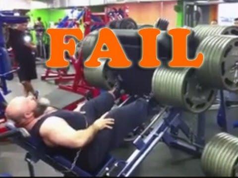 #3 Epic Gym Fail Compilation / Подборка приколов из качалки №3