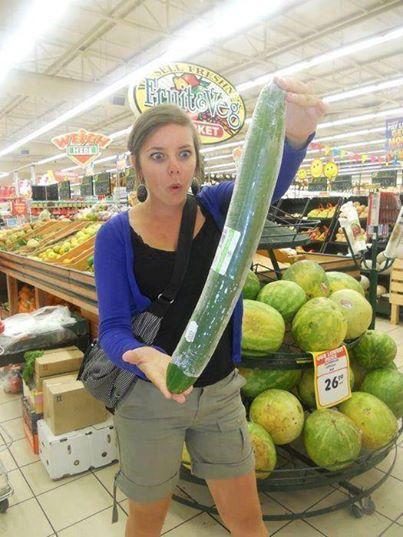 Giant Cucumber!