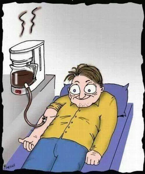 Coffee addicts…