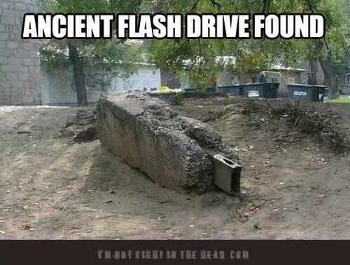 Ancient Flash Drive