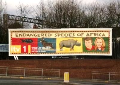 Endangered species in Africa