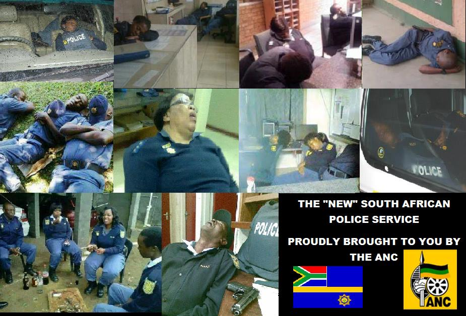 New South Aafrican Police Service