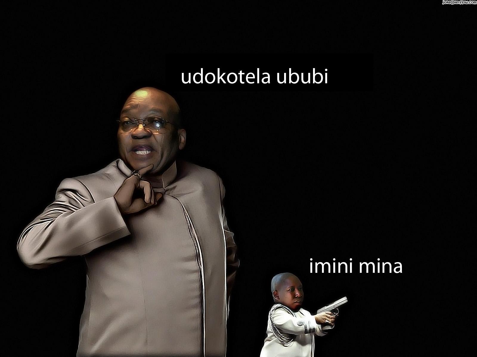 Zuma and Malema mini me