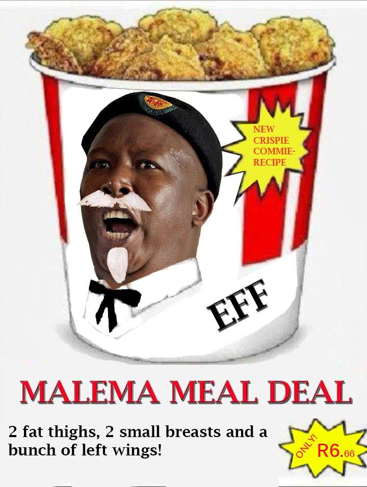 Malema meal deal.