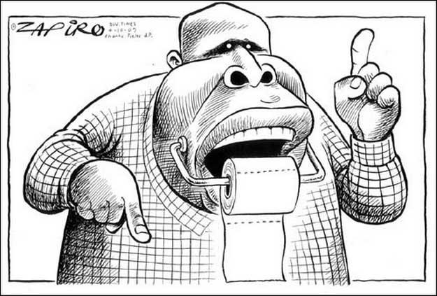 Malema talks too much…