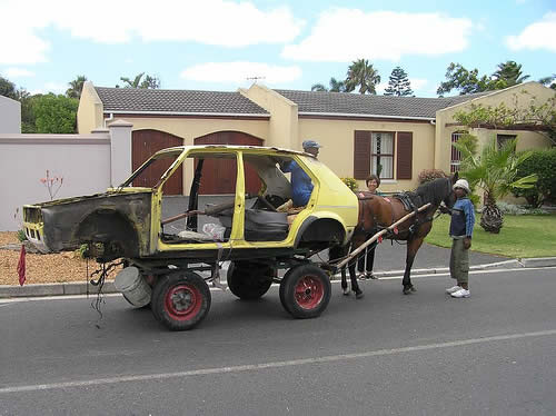 Fancy South African car.