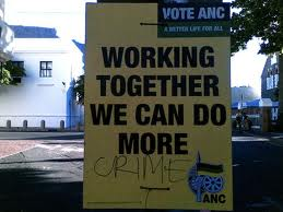 ANC causes more crime.
