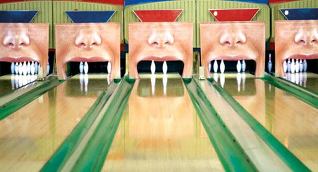 Toothless Ten Pin Bowling