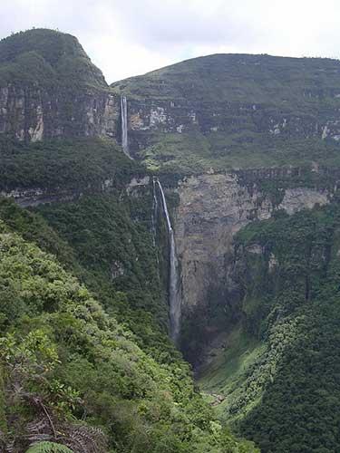 3. Three Sisters Falls (Tres Hermanas, Cataratas las) – 10 Highest Waterfalls