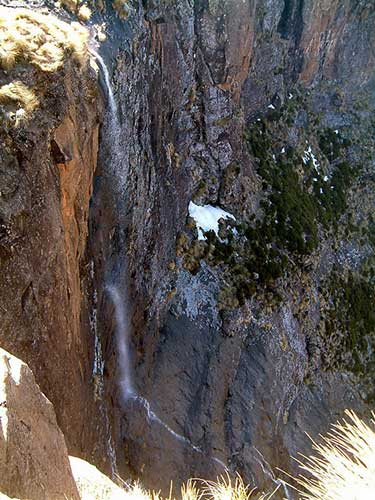 2. Tugela Falls – 10 Highest Waterfalls
