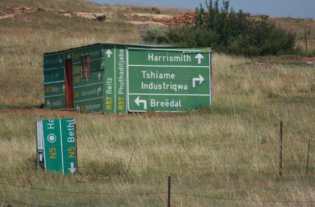 SA road to nowhere…
