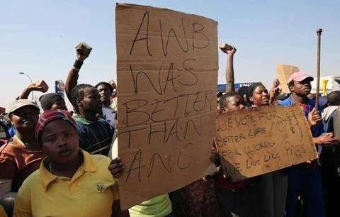 People must really be fed up with the ANC