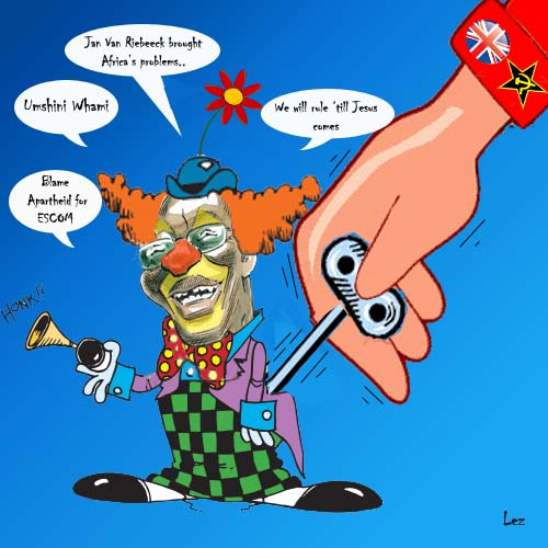 Jacob Zuma the funny puppet