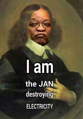 "Jacob Zuma the true ""Jan"" destroying South Africa"