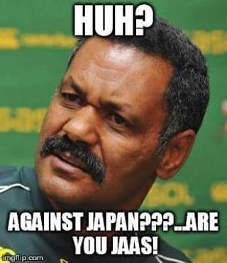 Japan beat the Springboks – 5