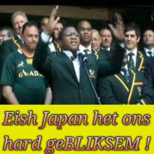 Japan beat the Springboks – 6