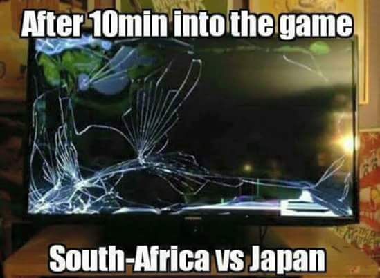 Japan beat the Springboks – 9