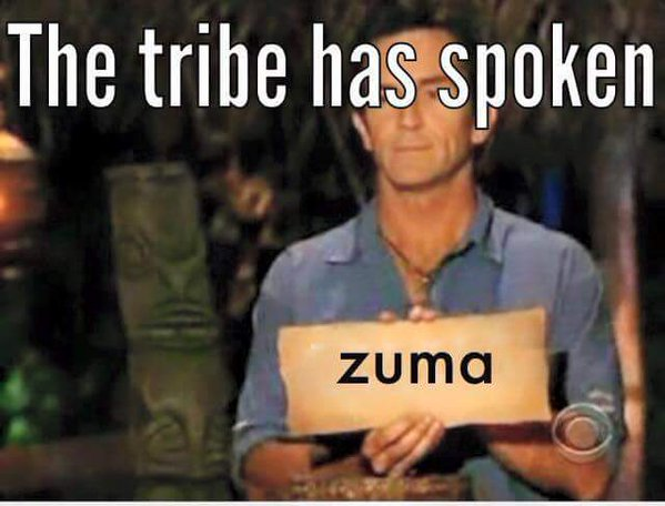 The tribe has spoken