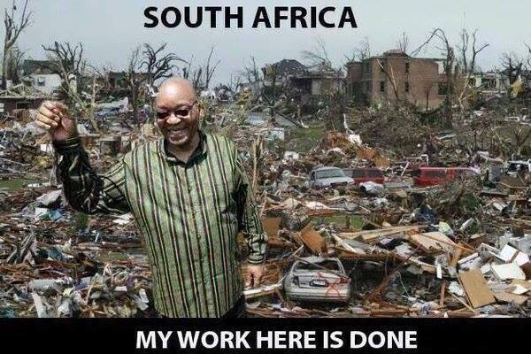 Zuma's job has been completed