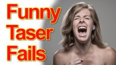Funniest Taser Fail Compilation