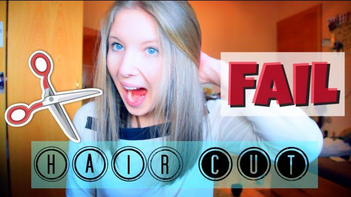 CUTTING MY OWN HAIR | HAIRCUT FAIL