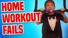 Home Workout Fails | Funny Fail Compilation