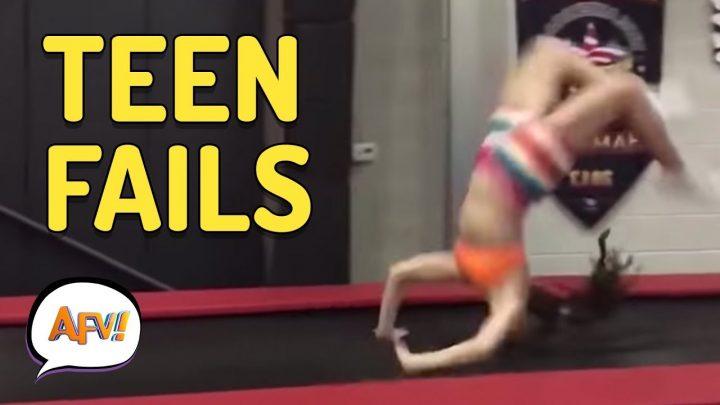 Funniest Teen Fails | AFV Fail Compilation