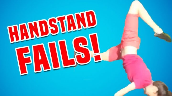 Handstand Fails | Funny Fail Compilation