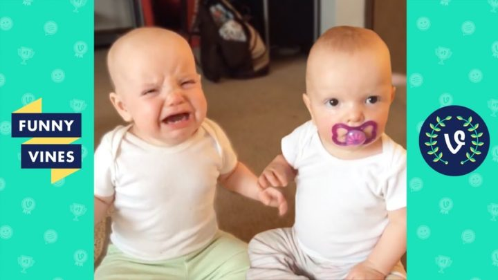 Try Not to Laugh Challenge – TWIN Babies, Tots & KIDS FAILS Compilation May June 2018 | Funny Vines