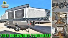 New 2018 Off Road Pop Up ROCKWOOD 2280BHESP Extreme Sports Package Camper RV Colorado Dealer