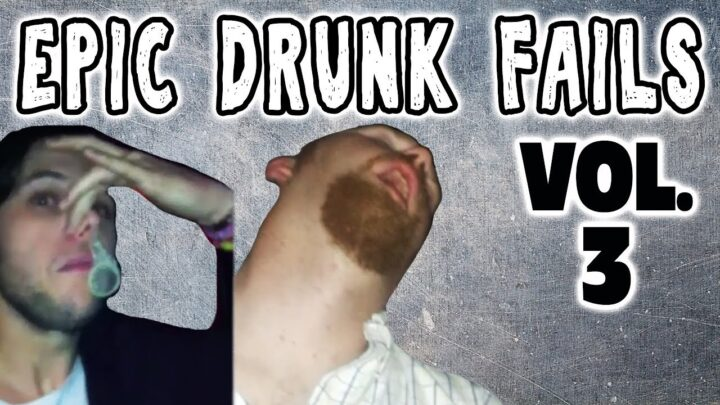 DRUNK FAIL COMPILATION VOL 3: DRUNK PEOPLE DOING THINGS – Epic Video!
