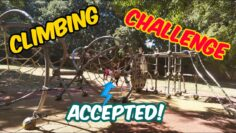 Spider Web Rope Climbing in Park- Adventure Sport Activity- Outdoor Brain booster Activity for kids