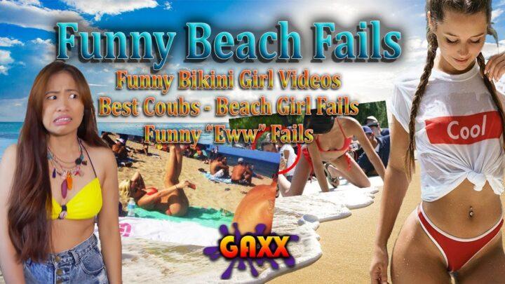 Bikini Beach Funny Beach Girl fails   Funny Eww Fails   funny beach girl video Best of 2020 so far