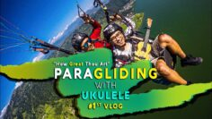 Paragliding with Ukulele 2020