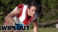 Woman's Big Ball Epic Fail   Wipeout HD