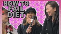 How to FAIL diet : Ask Japanese girls about their diet methods