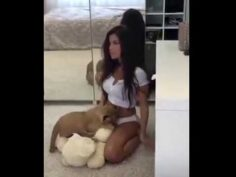 A Hot Girl Video Turned Into A Fail Lion King Ending Scene Reenactment