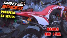 Test Sound Prospeed SX Series di Honda CRF 150L  – Xtreme Motor Sport Jakarta
