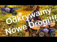 *Odkrywamy Nowe Drogi!!!* Jazda na Quadzie Yamaha Kodiak 450