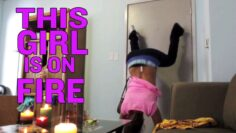 Twerking Fail Girl Catches On Fire | What's Trending Now