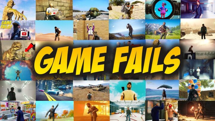 GAME FAIL COMPILATION! (Best Of #300)
