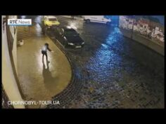 Woman falling on freezing Rain Epic Fail! Funny! Try not to pee!