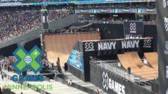 Skateboard Big Air: FULL BROADCAST   X Games Minneapolis 2017